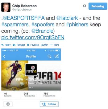 EASports Phishing