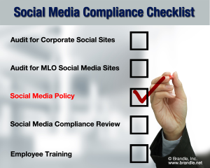 Social media compliance checklist