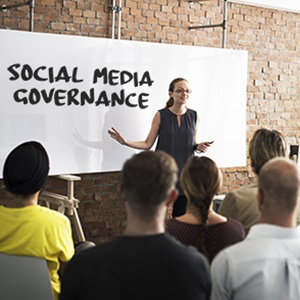 social media governance plan