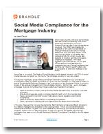 Social Media Compliance Checklist - Mortgage by Brandle, Inc.